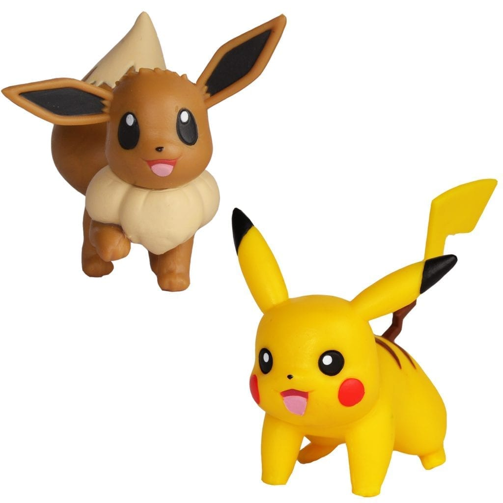 601eccbf6636c9 Pokémon Battle Figuren Evoli & Pikachu - BOTI Europe B.V.